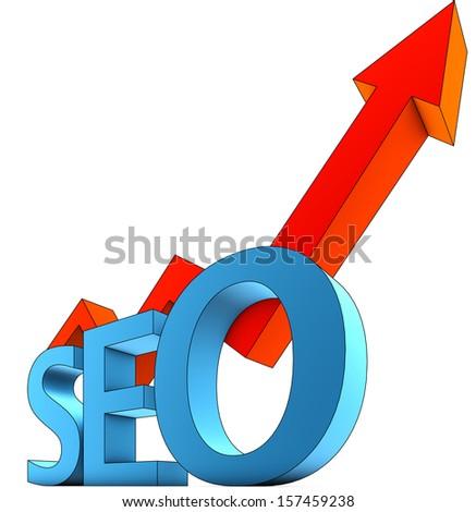 SEO icon - stock photo