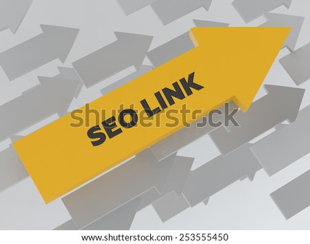 SEO LINK - stock photo