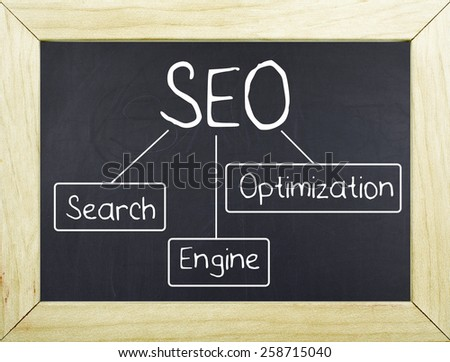 SEO Search Engine Optimization - stock photo