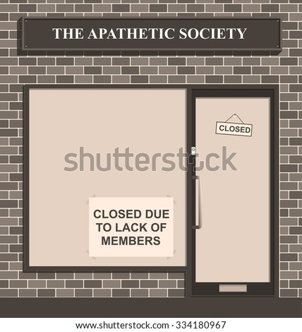 Sepia Apathetic Society closed due to lack of members