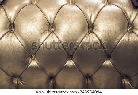 Sepia english genuine leather upholstery, background - stock photo