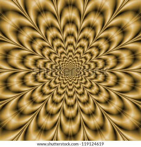Sepia Eye Bender/Digital abstract image with a psychedelic circular pattern in sepia coloring producing an optical illusion of movement.