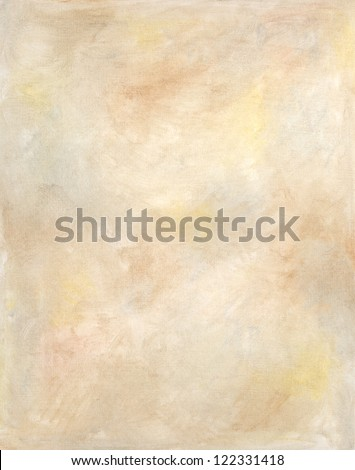 Sepia Oil Painting Texture Background - stock photo