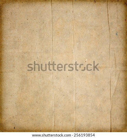 Sepia old paper abstract grunge background - stock photo