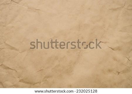 sepia paper background - stock photo