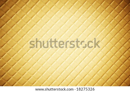 Sepia picture of genuine leather upholstery - stock photo