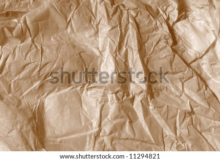 Sepia vintage paper for old look backgrounds - stock photo