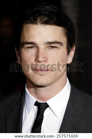 """September 6, 2006. Josh Hartnett at the Los Angeles Premiere of """"The Black Dahlia"""" held at the Academy of Motion Picture Arts and Sciences in Beverly Hills, California.  - stock photo"""