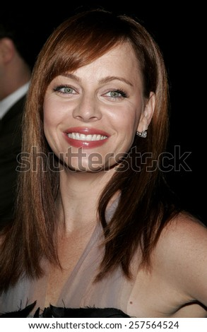 "September 13, 2006. Melinda Clarke attends the Los Angeles Premiere of ""The Last Kiss"" held at the Directors Guild of America in Hollywood, California United States."