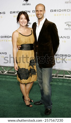 "September 5, 2006. Sasha Alexander and Edoardo Ponti attend the Los Angeles Premiere of ""Gridiron Gang"" held at the Grauman's Chinese Theatre in Hollywood, California United States."