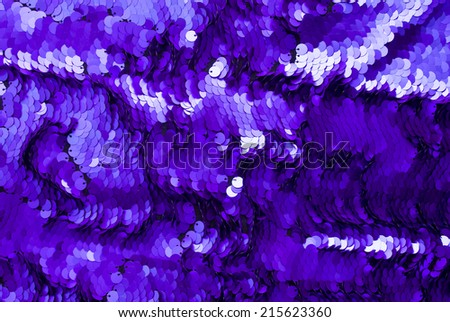 sequin textile texture. Good for disco, party, christmas, nye, carnival, summer, fashion, clothing or abstract design. - stock photo