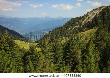 Serene View of Landscape in Visitor Mountains, Montenegro