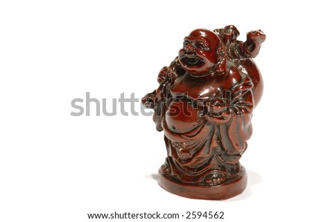 series object on white: isolated - figurine - Japanese history