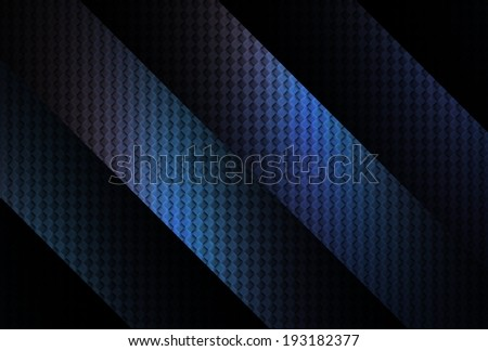 Series of blue / purple geometric diagonal stripes on black background