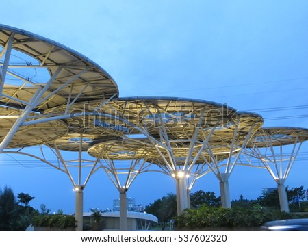 Serpong indonesia december 11 2016 entrance stock photo royalty serpong indonesia december 11 2016 entrance lobby of mall alam sutera thecheapjerseys Image collections