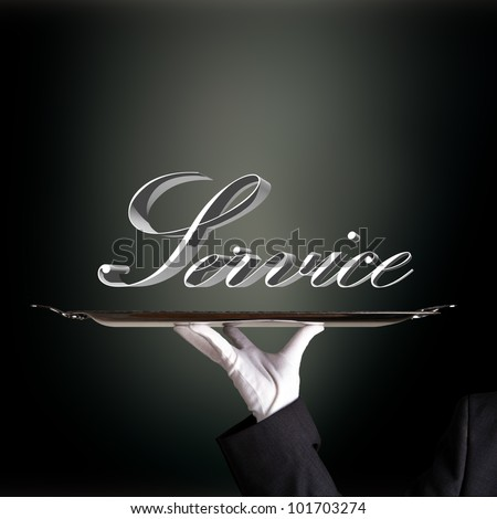 service presentation - stock photo
