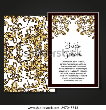 Set abstract card card invitation islam stock illustration set abstract card card or invitation with islam arabic indian ottoman motifs stopboris Image collections