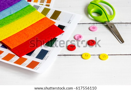 Set designer palettes on working desk stock photo royalty free set designer palettes on working desk close up ccuart Choice Image