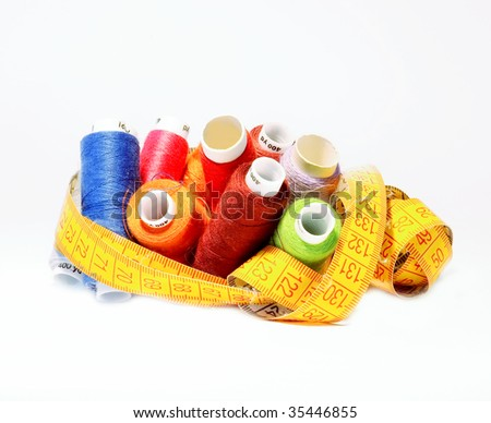 Set For Sewing - stock photo