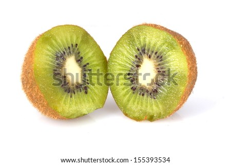 set kiwi fruit