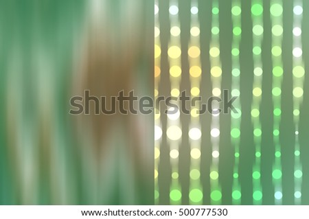 Set of abstract backgrounds blue and green illustration digital.