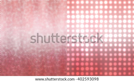 Set of abstract backgrounds red