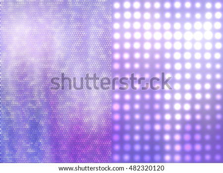 Set of abstract backgrounds violet. Two background. illustration digital.
