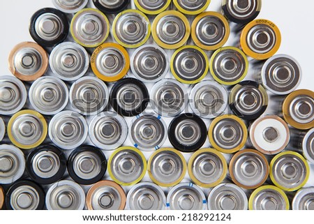 set of alkaline batteries