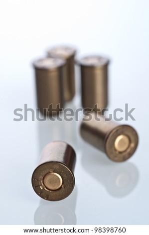 Set of bullets - stock photo
