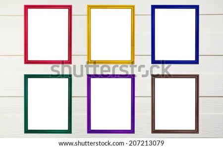 Nice Colorful Wooden Frames Photo - Frames Ideas - ellisras.info