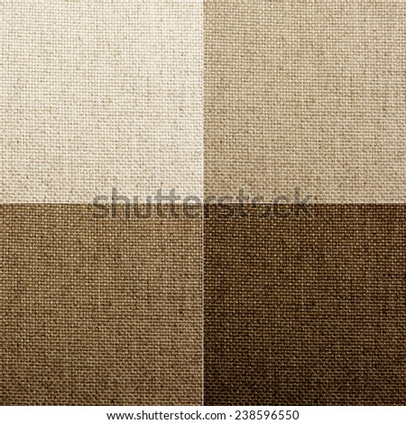 set of four different colored woven textures. - stock photo