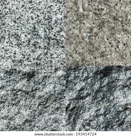 set of four stone textures for backgrounds