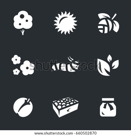 Set of Gardening Icons.