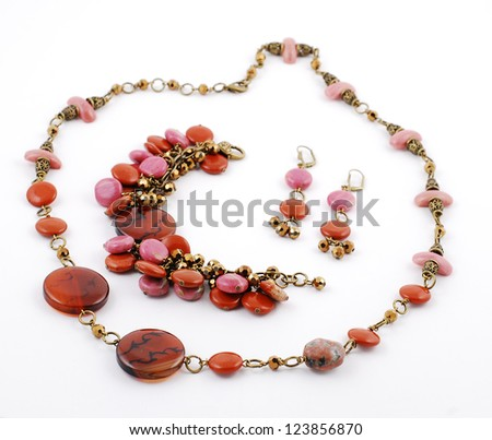 Set of Gems - stock photo