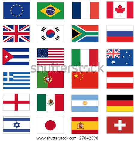 set of most important flags