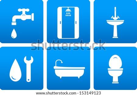 Toilet Bowl Icon Stock Photos Royalty Free Images