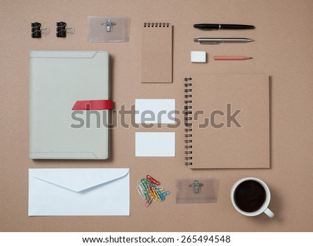 Set of stationary template