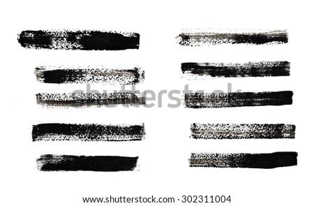 Set of Stripes - stock photo