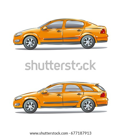 Passenger Sedan Stock Images Royalty Free Images Vectors