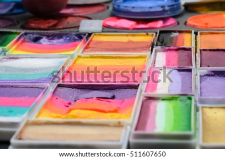 Auto Paint Mixing Set Up