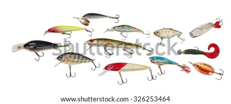 Set wobblers - stock photo