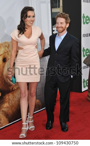 "Seth Green & Clare Grant at the world premiere of ""Ted"" at Grauman's Chinese Theatre, Hollywood. June 22, 2012  Los Angeles, CA Picture: Paul Smith / Featureflash"