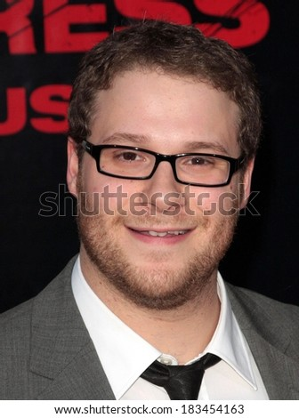 Seth Rogen at THE PINEAPPLE EXPRESS Premiere, Mann's Village Theatre in Westwood, Los Angeles, CA, July 31, 2008