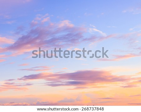 Setting Sun Bay View  - stock photo