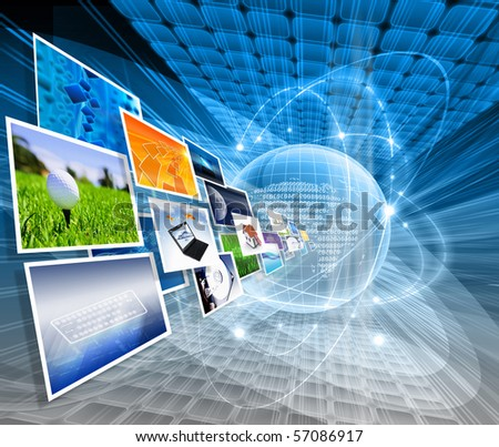 Several images - stock photo