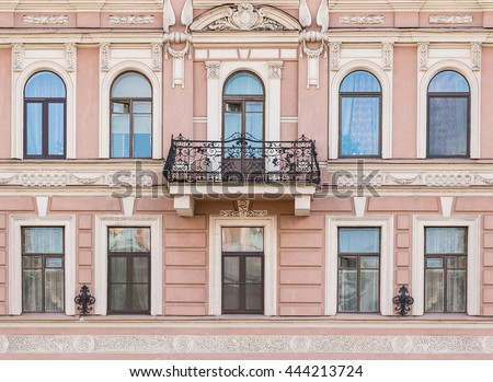 Apartment Building Front building ledge stock images, royalty-free images & vectors