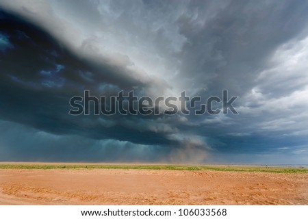 Severe weather in american plains