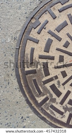 sewer in the street