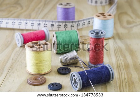Sewing articles with great light and colors
