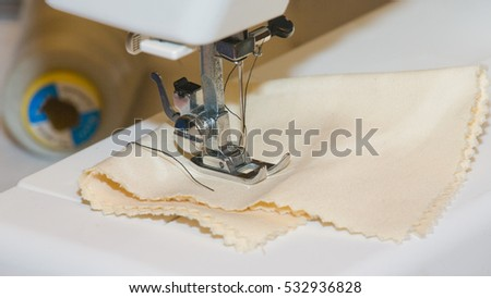 sewing machine, foot